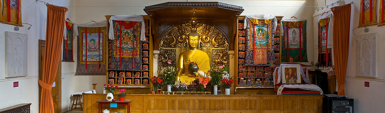 Jamyang shrine, London