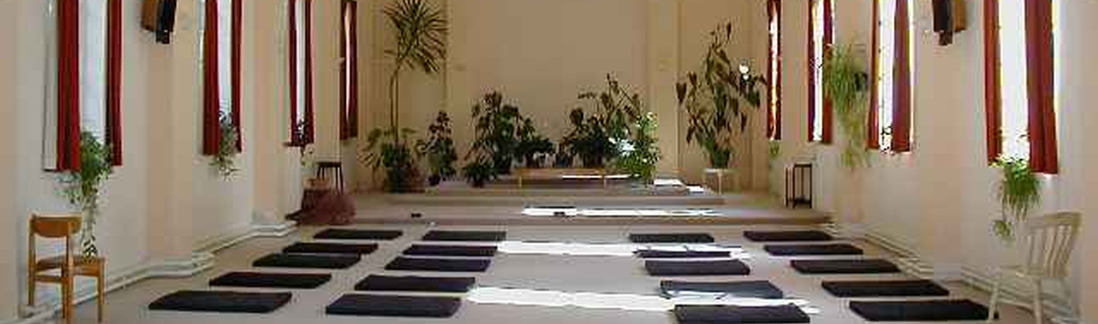 Gaia House Meditation Hall, Devon