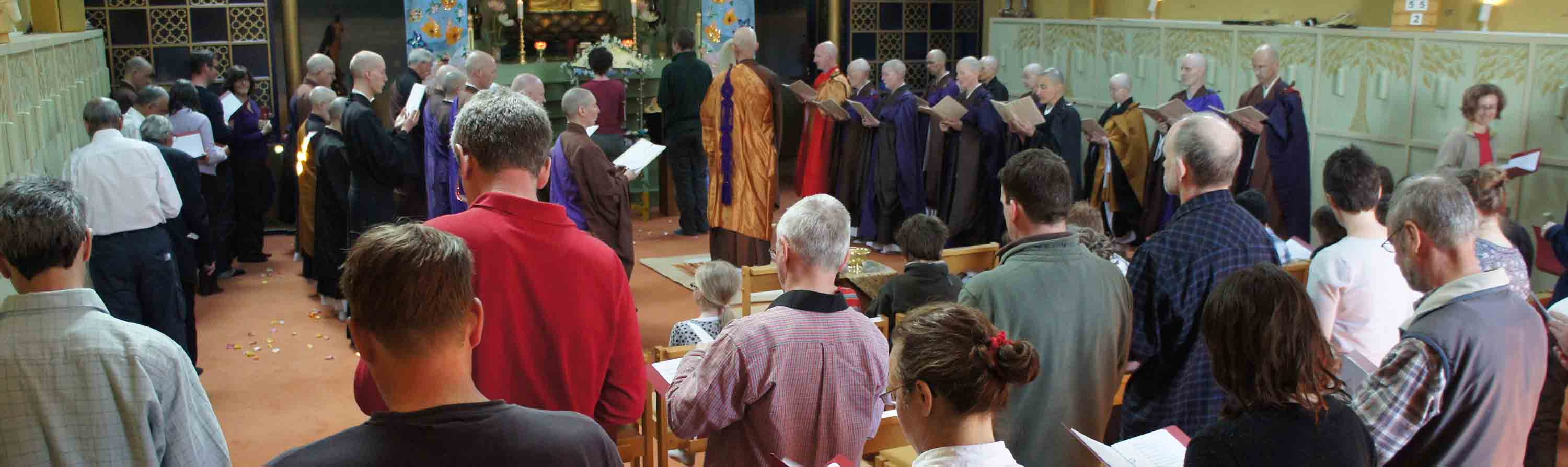 Order of Buddhist Contemplatives: Ceremony at Throssel Hole Buddhist Abbey